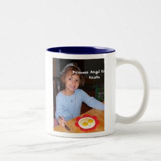 Princess Angel Krista Two-Tone Coffee Mug