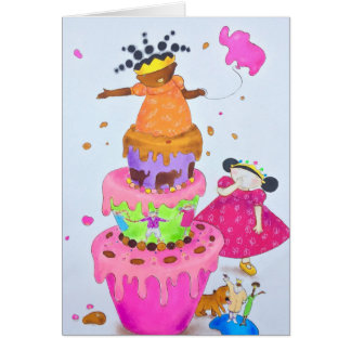 Princess Arabella birthday card! Card