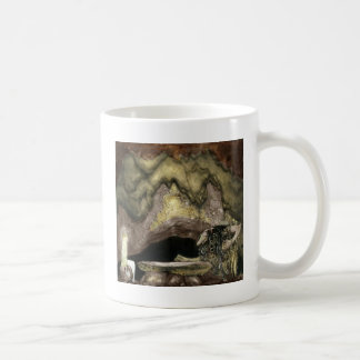 Princess at Table with a Troll Classic White Coffee Mug