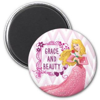 Princess Aurora 2 Inch Round Magnet