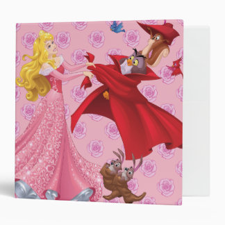 Princess Aurora and Forest Animals Binder