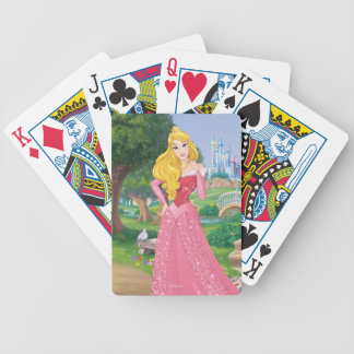 Princess Aurora Bicycle Playing Cards