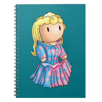 Princess Aurora Stomp Notebook