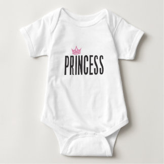 Princess Baby Body suit Baby Bodysuit