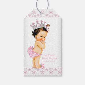 Princess Baby Shower Gift Tags
