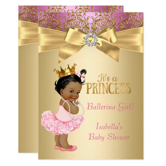 african american ballerina baby shower gifts - african american,