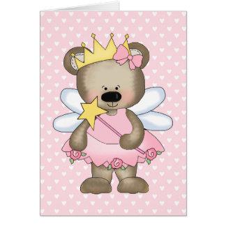 Princess Bear Card