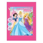 Princess Believe in Friendship 2 Postcard