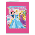 Princess Believe in Frinedship 2 Greeting Card