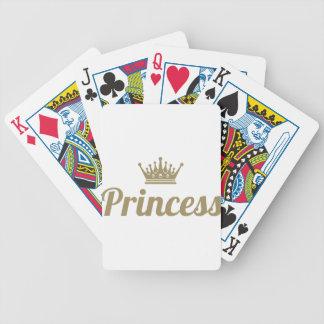 Princess Bicycle Playing Cards