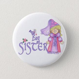 Princess Big Sister 2 Inch Round Button