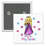 Princess Big Sister Pinback Buttons