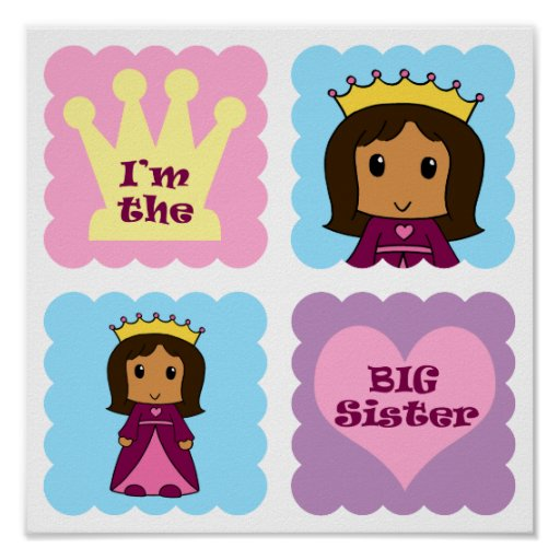 Princess Big Sister Poster