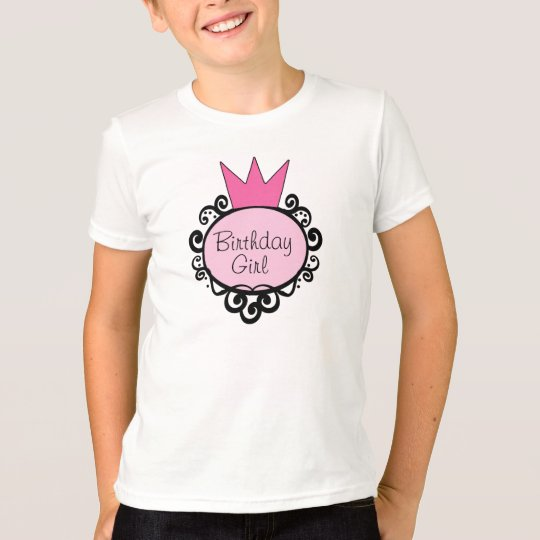 Princess Birthday Girl T-Shirt