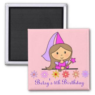Princess Birthday Magnet