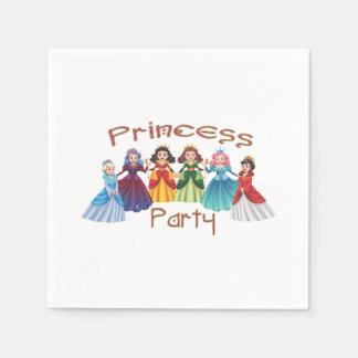 Princess Birthday Party Paper Napkins