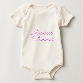 Princess Brianna Baby Bodysuit