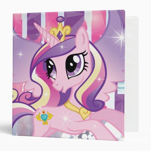 Princess Cadence Vinyl Binders