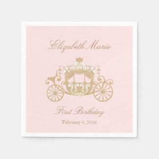 Princess Carriage Napkins Paper Napkins
