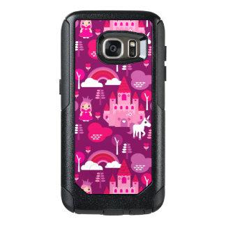 princess castle and unicorn rainbow OtterBox samsung galaxy s7 case