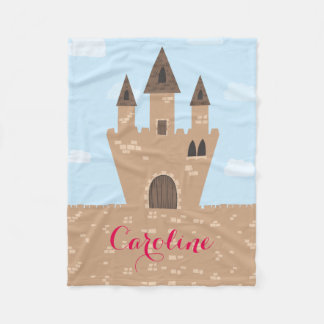 Princess Castle Fleece Blanket