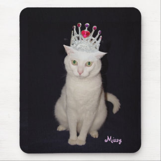 Princess Cat Mouse Pad