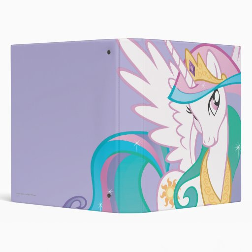 Princess Celestia 3 Ring Binder