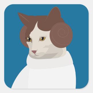 Princess Chip Square Sticker