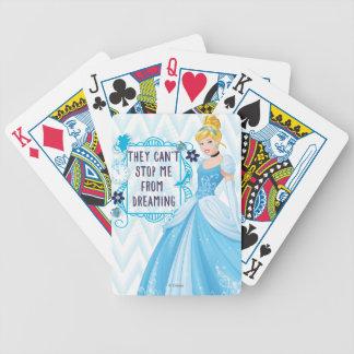 Princess Cinderella Bicycle Playing Cards