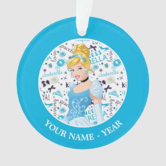 Princess Cinderella | Cinderella Add Your Name Ornament