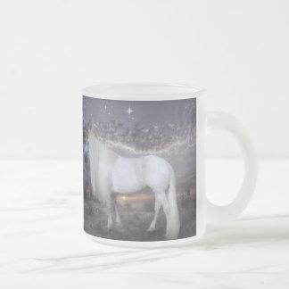 Princess Cinderella Frosted Glass Coffee Mug