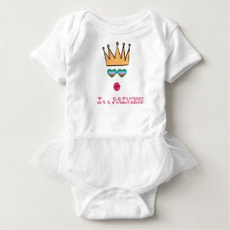 Princess Comfortable Elegant Baby Tutu Bodysuit