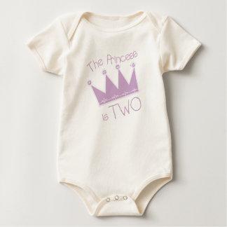 Princess Crown 2nd Birthday Tshirts and Gifts