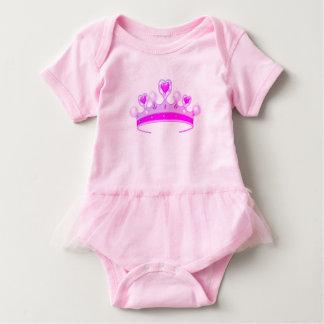 Princess Crown Baby Bodysuit