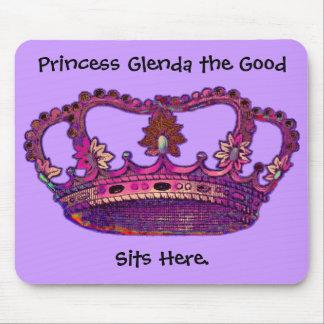 Princess Crown Customized Name Mousepad