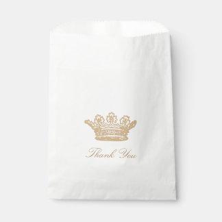Princess Crown Favor Bags