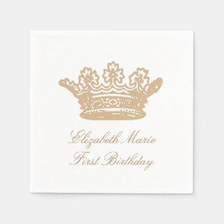 Princess Crown Napkins Paper Napkins