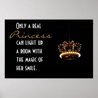 Princess Crown Poster
