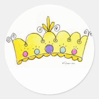 Princess Crown Stickers