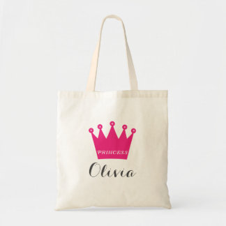 Princess Crown Tote Bag