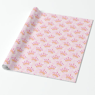 Princess Crown Wrapping Paper
