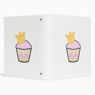 Princess Cupcake 3 Ring Binders