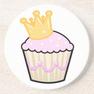 Princess Cupcake Drink Coaster