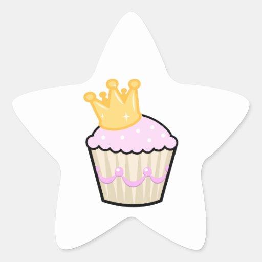 Princess Cupcake Stickers