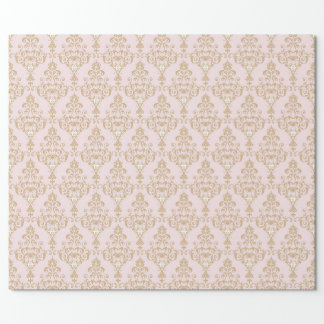 Princess Damask Wrapping Paper