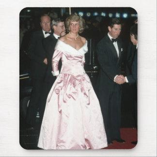 Princess Diana Germany 1987 Mouse Pad