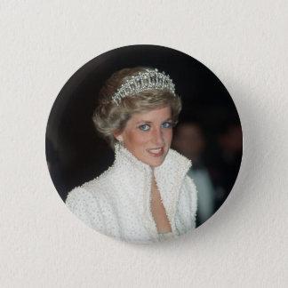 Princess Diana Hong Kong 1989 2 Inch Round Button