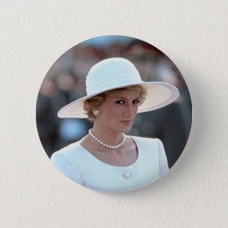 Princess Diana Hungary 1990 2 Inch Round Button