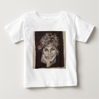 PRINCESS DIANA INK PEN PORTRAIT BABY T-Shirt