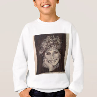 PRINCESS DIANA INK PEN PORTRAIT SWEATSHIRT